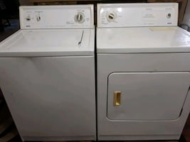 Kenmore electric washer and dryer