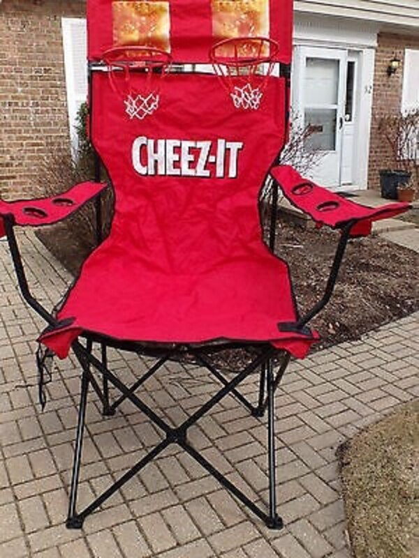 used giant cheez it chair for sale in oskaloosa letgo