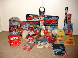 Cars/Cars 2 (Disney Movies) Decorations and Toys