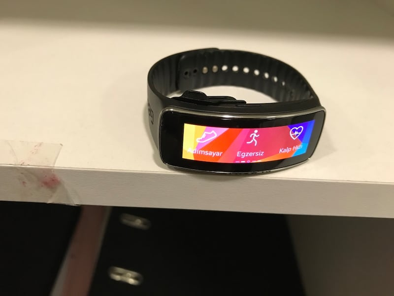 SAMSUNG GEAR FİT SM R350 2