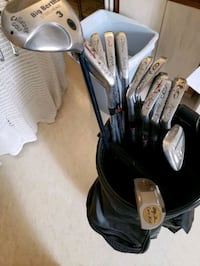 BEN HOGAN CLUBS, AND BAG, BEST OFFER