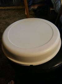 Vintage Tupperware Divided Relish/Party Bowl Wadsworth, 44281