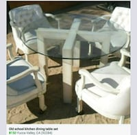 Dining kitchen table and chairs Yucca Valley, 92284