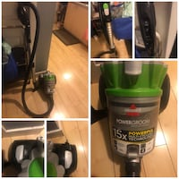 Bissel powerclean multi cyclonic canister vacuum.