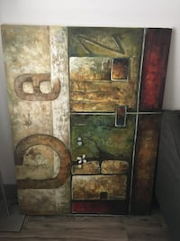 Large painting Round Rock, 78665