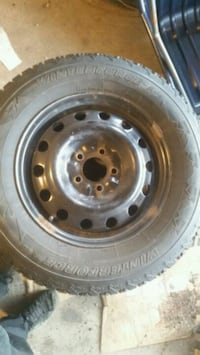 215 70 16  4winter force tires on rims Toronto