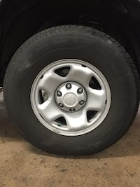 4 tires and wheeels