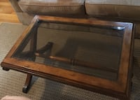Glass top coffee table Wilmington, 01887