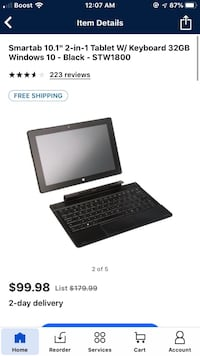 Mini Laptop Smart Tab