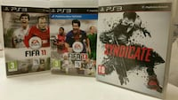 PS3: Syndicate + Fifa 13 + Fifa 11 Stockholm, 118 21