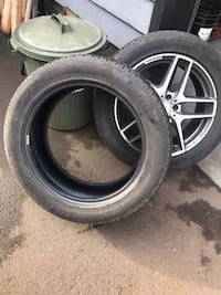 A set of Pirelli Scorpion Winter (Run Flat) Tires (235/55R19) Coquitlam