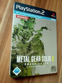 Play Station 2 Metal Gear Solid 3 Tasche