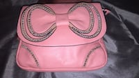 pink leather leather crossbody bag Hamilton, L8J 0K6