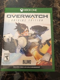 Xbox one overwatch game Albuquerque, 87114