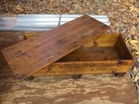 Hand Made Rustic Wood Chest