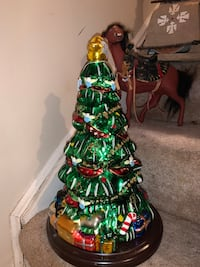 Authentic 4 foot Handblown Christmas Tree - Certificate Included Columbia, 21045