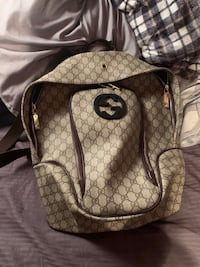 Authentic Gucci Backpack  Edmonton, T5N 0W8