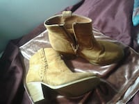 pair of brown leather boots Kitchener, N2G 2M3