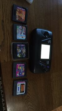 Game  Gear with 5 games Lake in the Hills, 60156