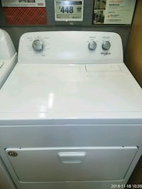 white front-load clothes dryer Capitol Heights, 20743