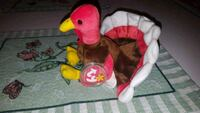 Ty Gobbles the Turkey Beanie Baby With Errors Laval, H7W 4C6