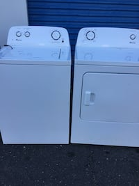 white washer and dryer set 8 km