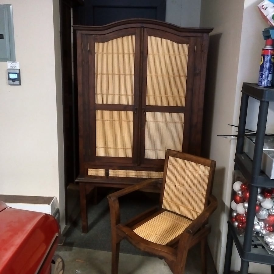 TV or Clothing Armoire