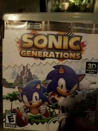 Xbox 360 Sonic The Hedgehog game case Dartmouth, B3A 4C5