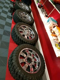Ford f350 rims and tires  Meriden