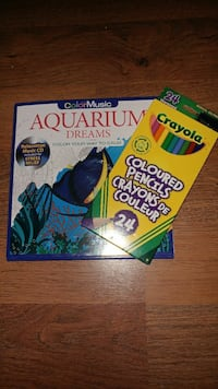 Colouring Book, Relaxation CD and Pencil Crayons Belleville, K8P 4X1