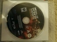 Sony PS3 medal of honor Merced, 95341