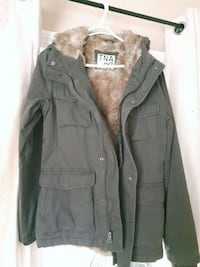Green  and brown fur jacket Langley, V2Y 2E4