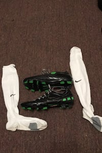 Total 90 Nike cleats And socks