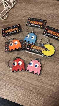 Brand new Pac Man keychains - $8 for all Surrey, V4N 2E7