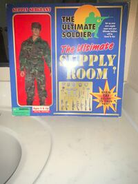 Ultime solider supply room  Military toy Indian Head, 20640