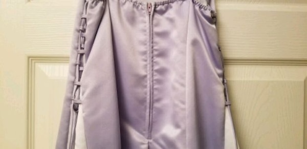 Gorgeous Lilac Rhinestone Dress Brand Marshmallow  6