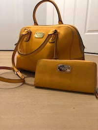 brown leather 2-way bag Fairfax, 22030