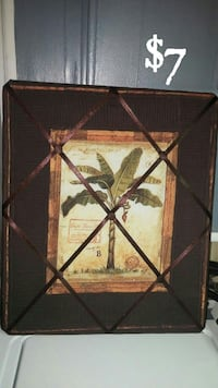 framed banana tree painting Township of Taylorsville, 28681