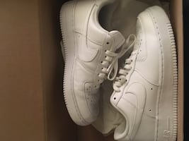 White Air Force 1's