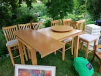 8 person square dining table Toronto