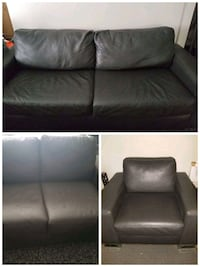 3 piece leather couch set  Waterloo, N2T 2A9