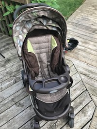 baby's black and gray stroller Hamilton, L9B