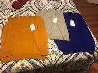 3 cashmere/wool blend sweaters Arlington, 22204