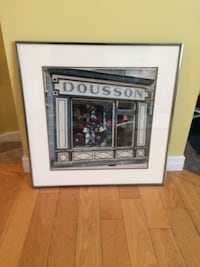 French Hat Shop Framed Picture  Châteauguay, J6J