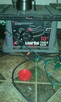 "10"" Clarke Table saw Muncie, 47305"