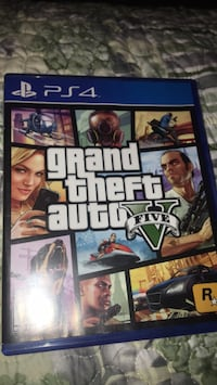 Grand Theft Auto Five PS4 game case South Holland, 60473