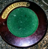 round black and green metal frame Fort Worth, 76105