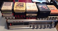 8 track player and 25 recorded tapes Kelowna, V1Z 1R3