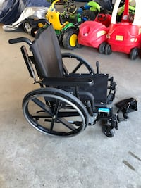Black wheelchair Langley, V3A 3T3