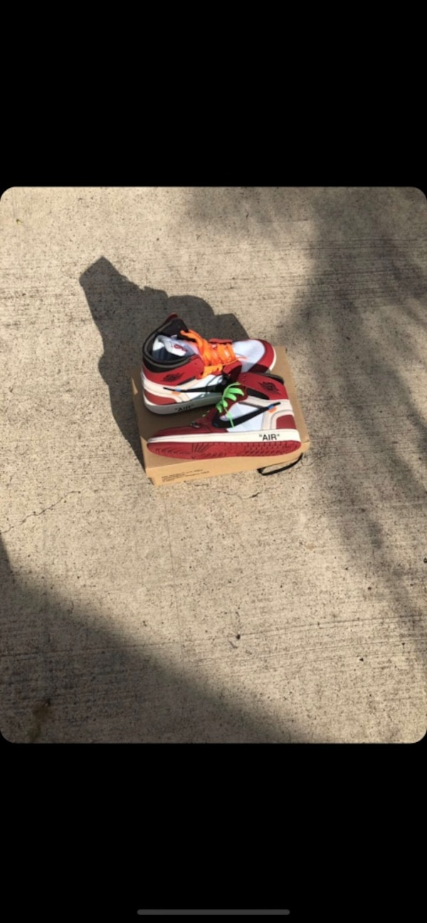 bb8b458a2cb1 Used Mens size 10 off-white nike air jordan 1 for sale in McAllen ...